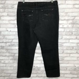 Style & Co curvy fit black jeans Size: 16